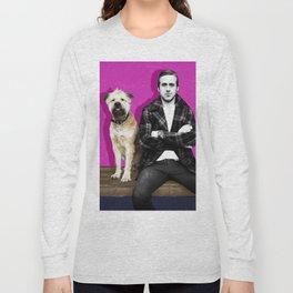 Ryan Gosling and friend Long Sleeve T-shirt