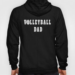 Volleyball Dad Quote Hoody
