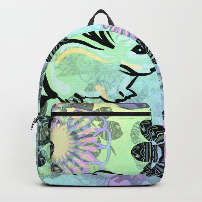 Easter Egg Pattern Backpack