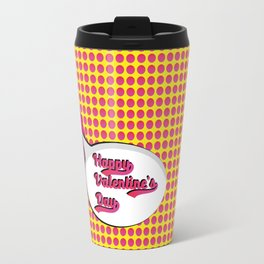 Pop Art valentine's day Travel Mug