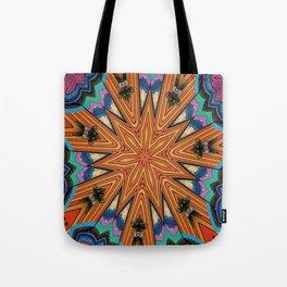 3 Dimensional Mandala Tote Bag