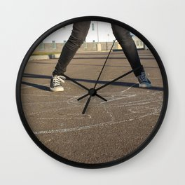 HopScotch Wall Clock