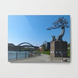 Sunderland Riverside Walk Metal Print