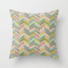 Chevron Pattern Throw Pillow