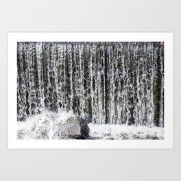 Waterfall II Art Print