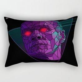 Neonnight 80s cyborg Rectangular Pillow
