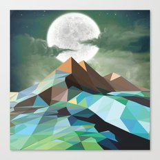 Night Mountains No. 3 Canvas Print