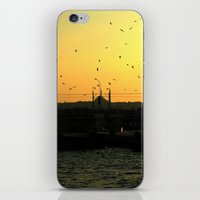 istanbul iPhone & iPod Skins featuring Istanbul by habish