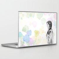 pride and prejudice Laptop & iPad Skins featuring Pride and Prejudice by Wadart