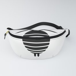 Bugs: abstract Isopod Fanny Pack