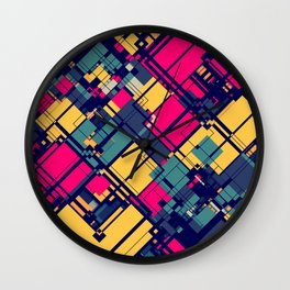 Alpha & Omega Wall Clock