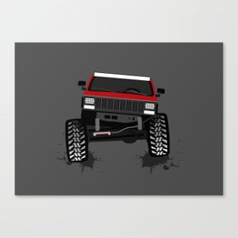 RED XJ Canvas Print