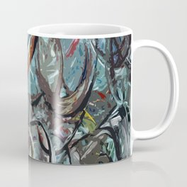 Abstract Composition 670 Coffee Mug