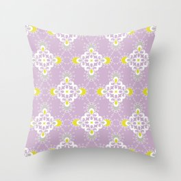 paisley pattern 1 Throw Pillow
