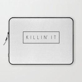 Killin' It - Black Laptop Sleeve