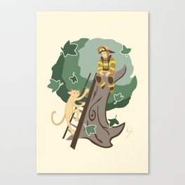 Stuck in a Tree Canvas Print