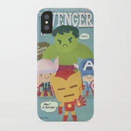 avengers fan art iPhone Case