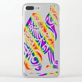 Gryphon- Rainbow Clear iPhone Case