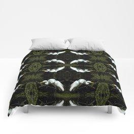 Egret at Rest Comforters