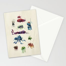 Iridescent Bugs - Set A Stationery Cards