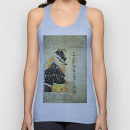 Vintage poster - French Exposition Unisex Tank Top