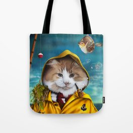 Le pêcheur/The fisherman Tote Bag