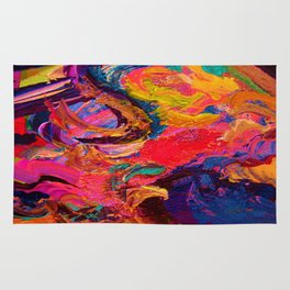 Color and Texture Rug
