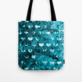 Abstract Hearts II Tote Bag