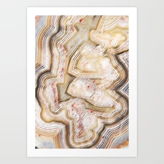 Marble Natural Art Print