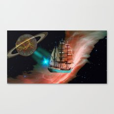 SpaceShip Canvas Print