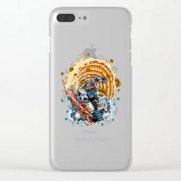 gundam rx 78 Clear iPhone Case