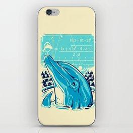 Aquatic problem iPhone Skin