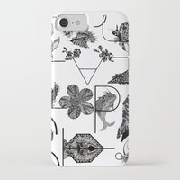 letters iPhone & iPod Cases featuring Letters by Isabella Polly