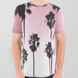 Palms & Sunset All Over Graphic Tee