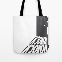 Knock Knock, Who's There Tote Bag