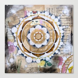 Music Mandala Canvas Print