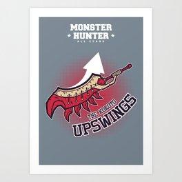 Monster Hunter All Stars - The Kotoko Upswings  Art Print
