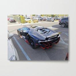 Centenario parking Metal Print