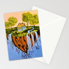 Floating Island Stationery Cards