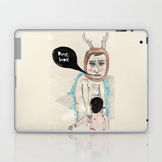 Call me indie Laptop & iPad Skin