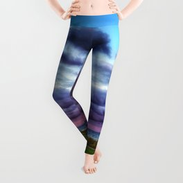 Last colours of the day Leggings