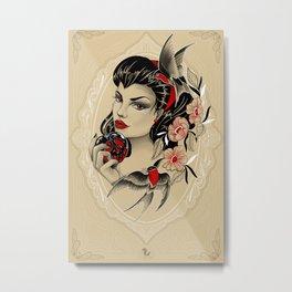 Blanca Nieves Metal Print