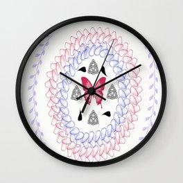 Zen Butterfly Wall Clock