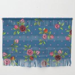 Boho Floral Wall Hanging