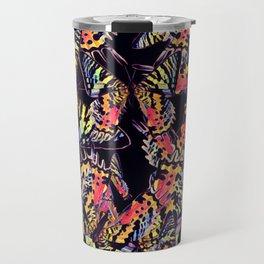 Sunset moth print Travel Mug