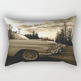 All my friends know the lowrider Rectangular Pillow