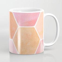 Desert Mood Hexagon Print Coffee Mug