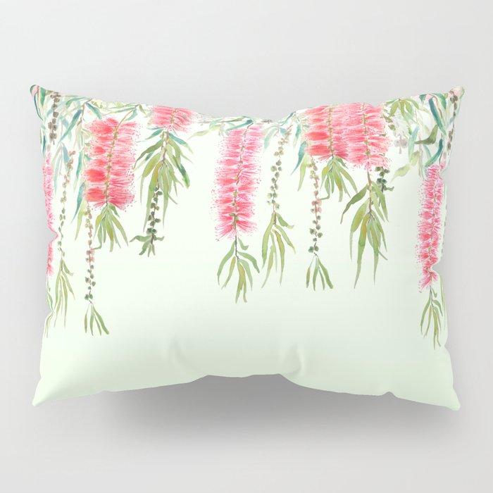 bottle brush tree flower Pillow Sham