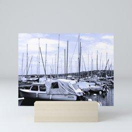 Sailin Mini Art Print