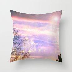Cloud Study pt5 Throw Pillow